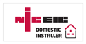 We are a NICEIC DOMESTIC INSTALLER approved Contractor, visit their site for more details
